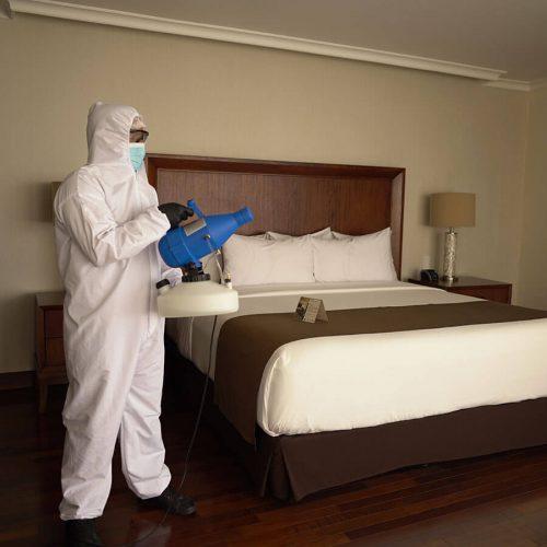 Sanitización de habitaciones