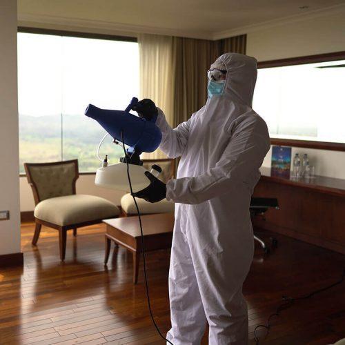 Sanitizacion de habitaciones